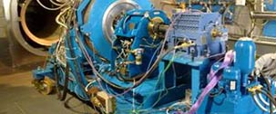 Turboshaft engines test bench: CT7-8F5 and CT7-8A, CT7-9CT700, PW-200  engines Series for ITP