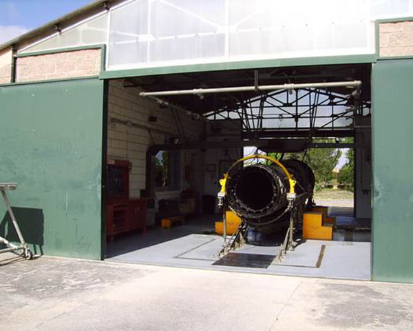 ATAR 09k50 Engine test bench for the Spanish Air Force