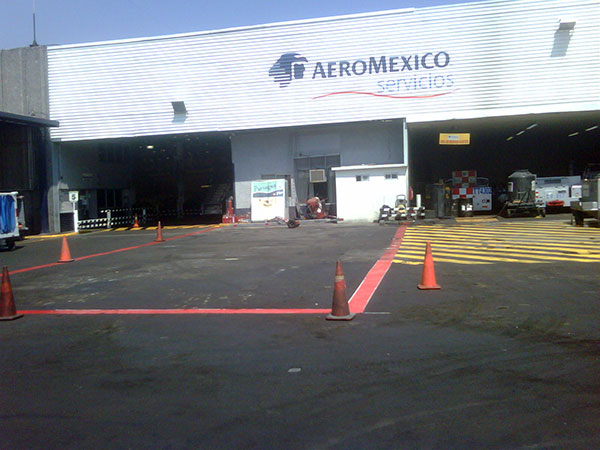 Comprehensive maintenance of ground support equipments (GSE) for Aeroméxico Servicios