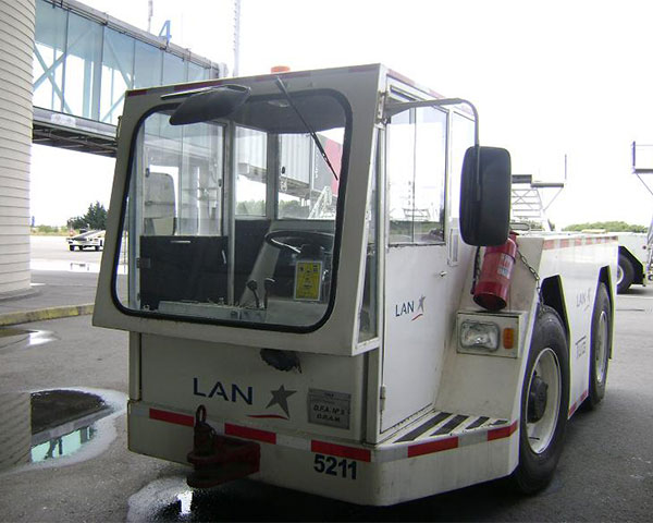 Comprehensive maintenance of ground support equipments (GSE) for Andes Airport Services and LAN Maintenance