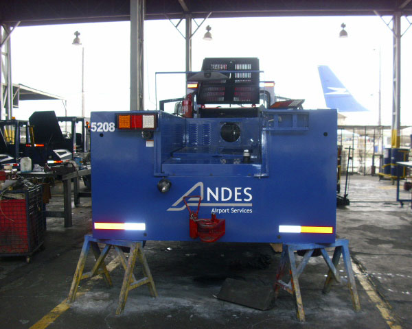 Restoration of 20 GSE's for Andes Airport Services in Santiago de Chile during 2010.